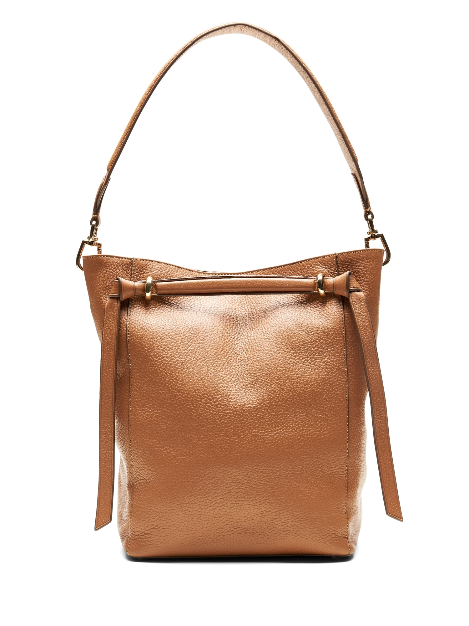 ab33352c84d2 Italian Leather Large Bucket Bag