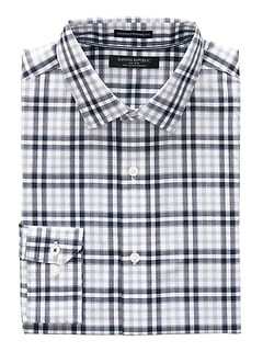 Camden Standard-Fit Non-Iron Plaid Shirt