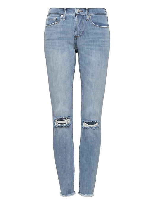 Petite Skinny Zero Gravity Light Wash Ankle Jean by Banana Repbulic