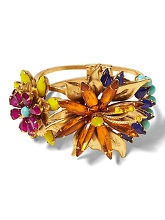 Elizabeth Cole &#124 Tropical Flower Bracelet