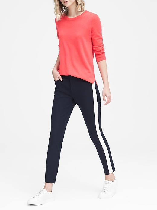 Sloan Skinny Fit Side Stripe Bi Stretch Pant by Banana Repbulic