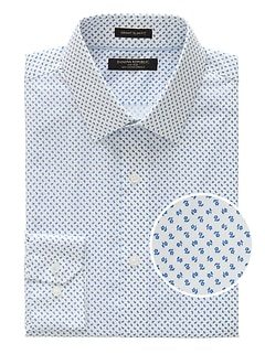 Grant Slim-Fit Non-Iron Floral Shirt