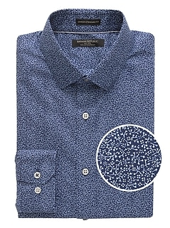 Camden Standard-Fit Non-Iron Floral Dress Shirt