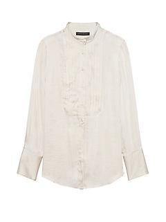 Dillon Classic-Fit Soft Tuxedo Shirt