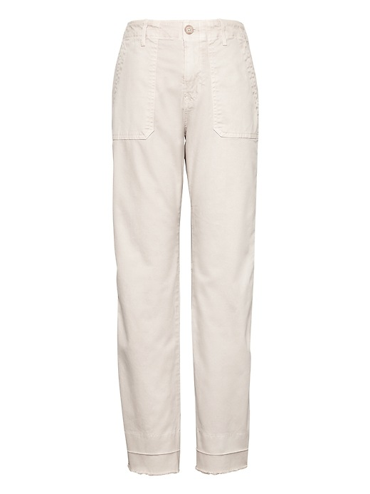 Straight-Fit Utility Chino