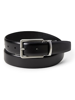 Reversible Saffiano Leather Belt