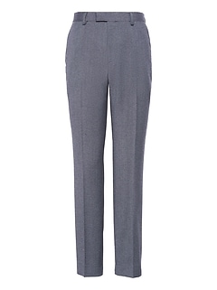 Slim Brushed Oxford Suit Pant