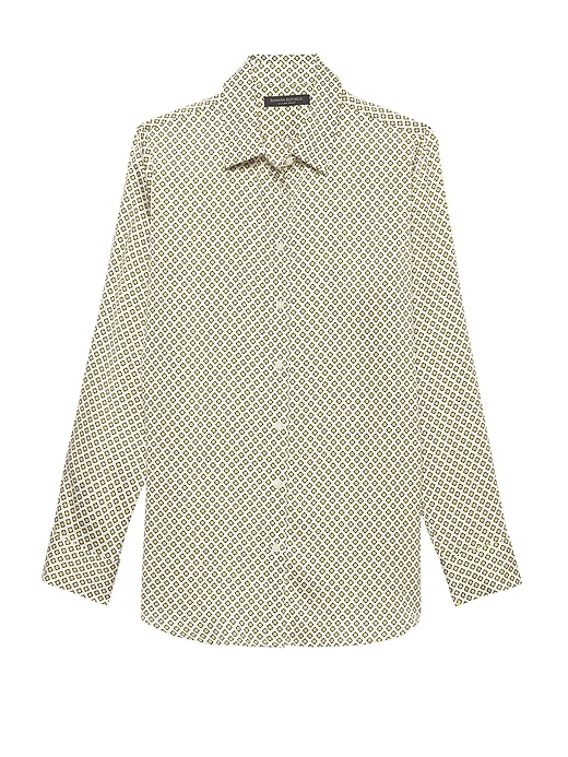 Dillon Classic Fit Print Shirt by Banana Repbulic