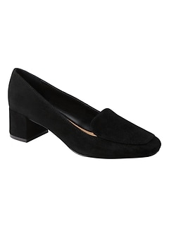 Low Block-Heel Loafer