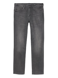 Slim Japanese Traveler Gray Jean