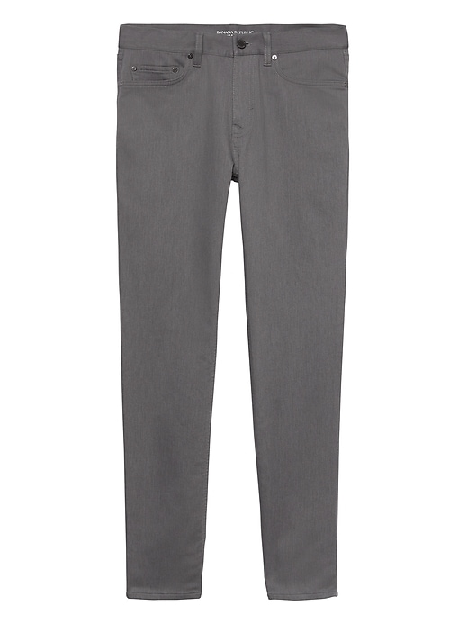 Athletic Tapered Heathered Traveler Pant by Banana Repbulic