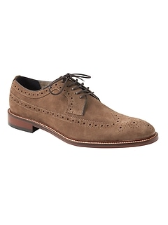 Herne Suede Brogue Oxford