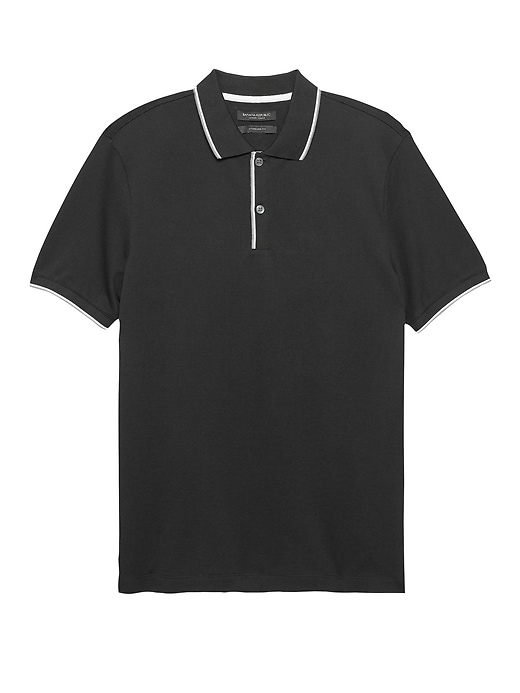 Luxury-Touch Texture Polo