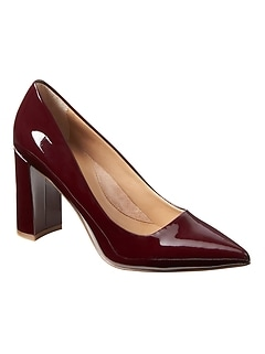 Madison 12-Hour Block-Heel Pump