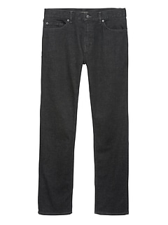 Slim Rapid Movement Denim Black Jean