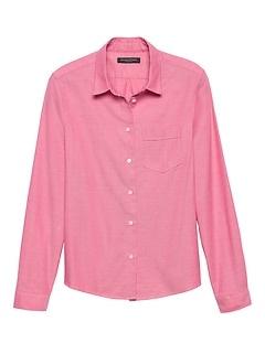 Petite Quinn-Fit Oxford Shirt