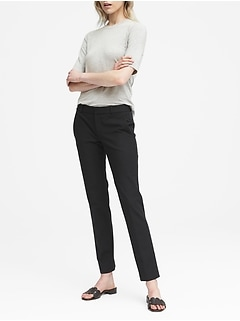 Ryan Slim Straight-Fit Machine-Washable Bi-Stretch Pant