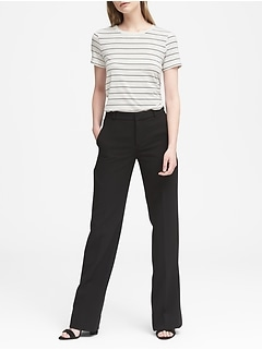 Blake Wide Leg-Fit Machine-Washable Bi-Stretch Pant