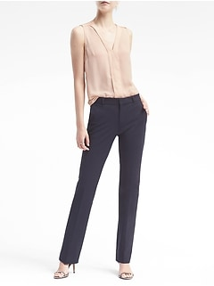 Logan Trouser-Fit Machine-Washable Bi-Stretch Pant