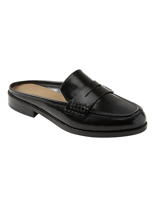 Demi Penny Loafer Slide by Banana Repbulic