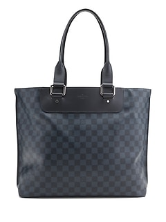LUXE FINDS &#124 Louis Vuitton Damier Cobalt Cabas Voyage Tote Bag