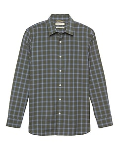 Heritage NEW Slim-Fit Plaid Shirt
