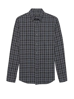 NEW Slim-Fit Double-Weave Shirt