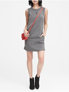 Heathered Sporty Shift Dress