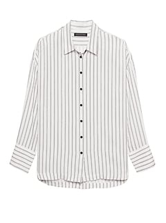 JAPAN ONLINE EXCLUSIVE Oversized Stripe Shirt