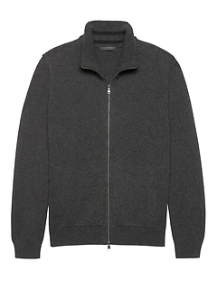 Cashmere Full-Zip Sweater Jacket