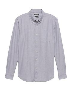 Grant Slim-Fit Cotton Oxford Shirt