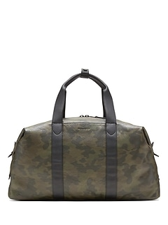 BR x Kevin Love &#124 Camo Leather Duffle Bag