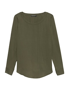 Petite TENCEL™ Perfect Tunic Top