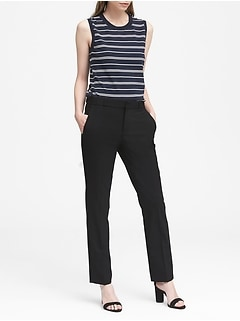 Ryan Slim Straight-Fit Lightweight Wool Pant
