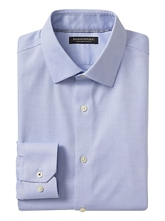 Camden Standard-Fit Non-Iron Birdseye Dress Shirt