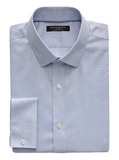 Grant Slim-Fit Non-Iron French Cuff Dress Shirt