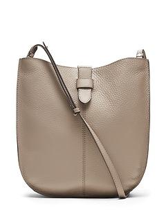 Italian Leather Hobo Bag