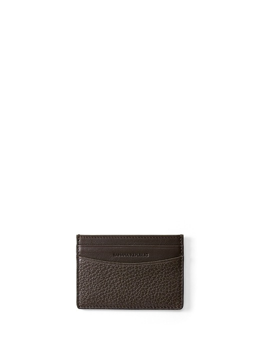 Leather Card Case by Banana Repbulic