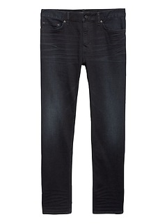 Straight Rapid Movement Denim Dark Wash Jean
