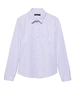 Quinn Straight-Fit Oxford Shirt