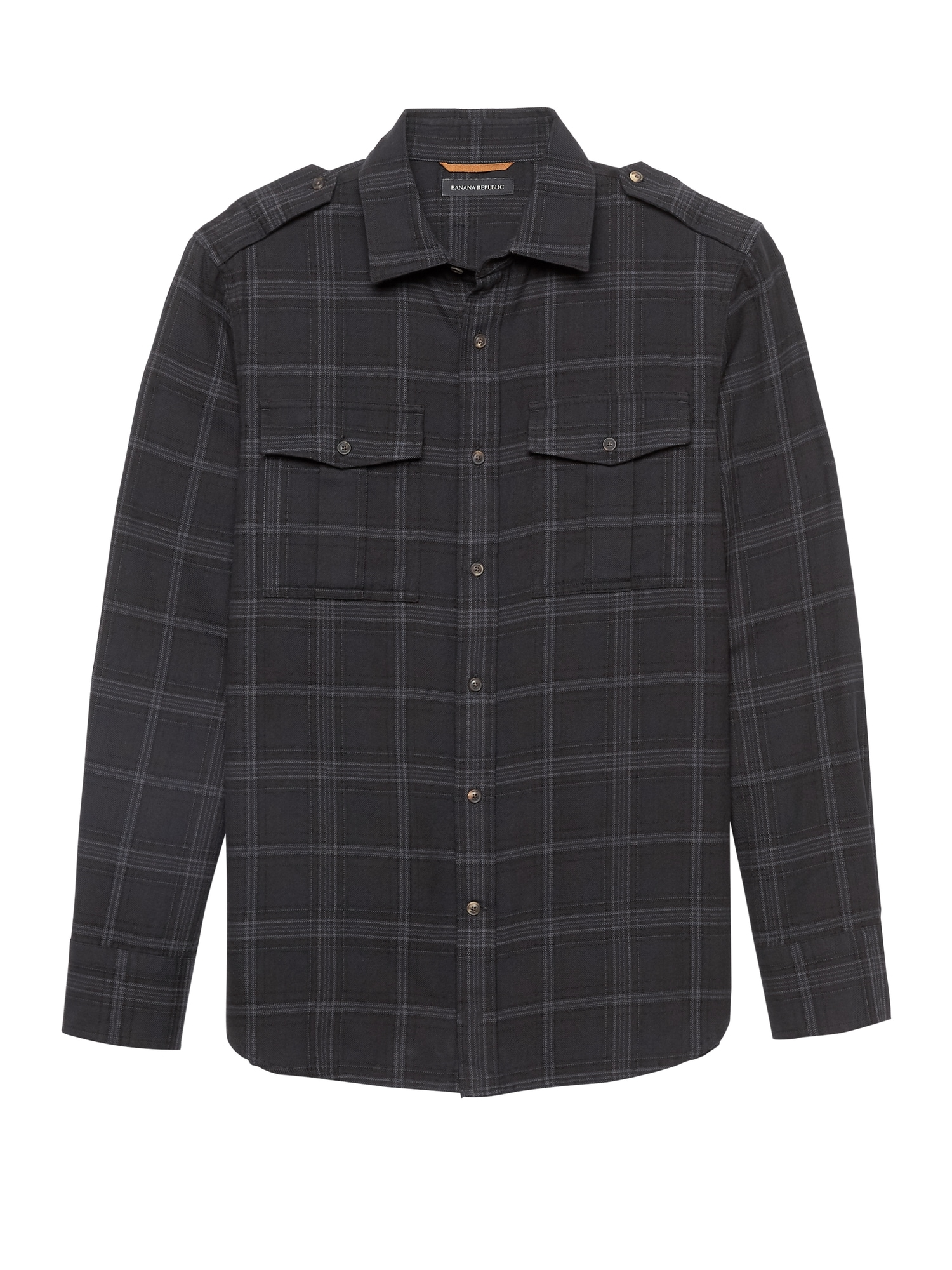 09d68bb4a Heritage NEW Slim-Fit Flannel Plaid Shirt Jacket