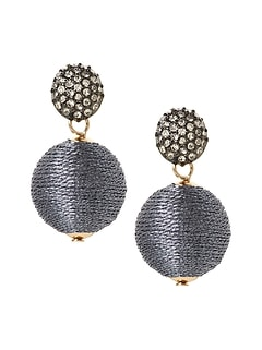 Classic Bauble Drop Earrings