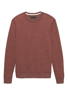 Waffle-Knit Crew-Neck Thermal T-Shirt