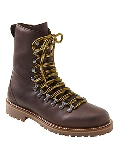 Rayney Lace-Up High Leather Hiking Boot