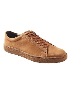 Donevin Suede Crepe-Sole Sneaker