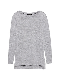 Luxespun Step-Hem Tunic T-Shirt