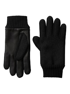 Wool-Leather Glove