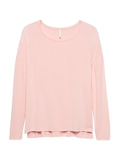 Soft-Stretch Relaxed T-Shirt