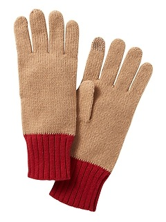 Ribbed-Knit Glove