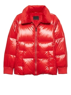 Water-Repellent Down Puffer Jacket